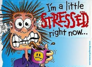 i am stressed
